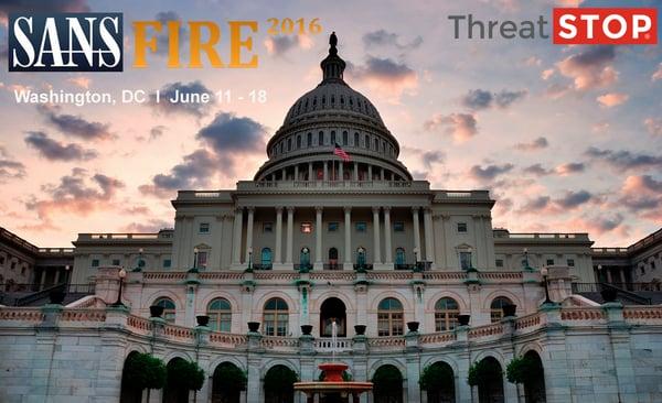 SANSFIRE 2016 -- See ThreatSTOP in Action