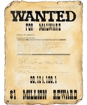 Wanted for malware - IP address 98.124.198.1