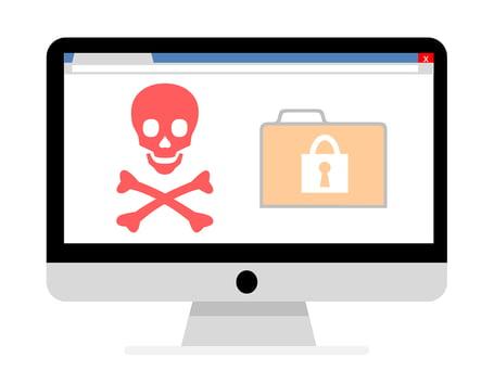 Malware encrypted file